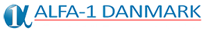 Alfa-1 Danmark Logo